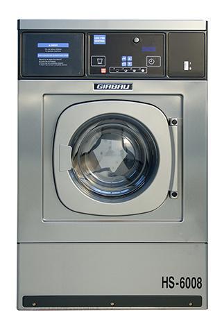 HS 6008 logipro front a - Máy giặt công nghiệp Girbau HS-6008