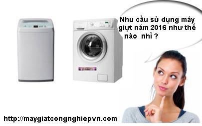 mua may giat - Đánh giá nhu cầu sử dụng máy giặt ngày một gia tăng trong năm 2016