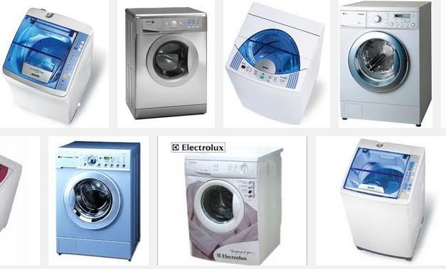 cac loai may giat - Ưu nhược điểm của từng hãng máy giặt thương hiệu trên thị trường