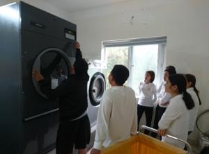 Dự án lắp đặt máy giặt sấy công nghiệp của Thái Bình