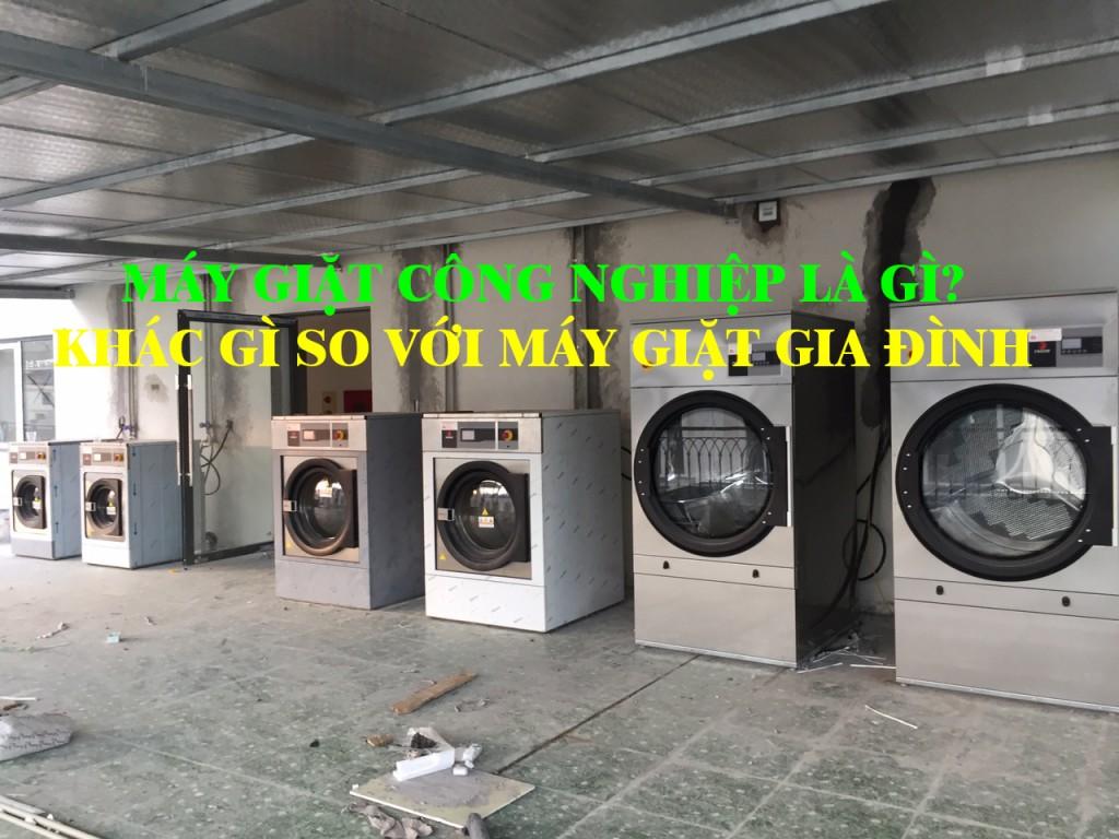 máy giặt công nghiệp là gì khác gì so với máy giặt thông thường