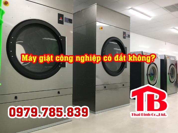 Máy giặt công nghiệp có đắt không? Báo giá máy giặt công nghiệp