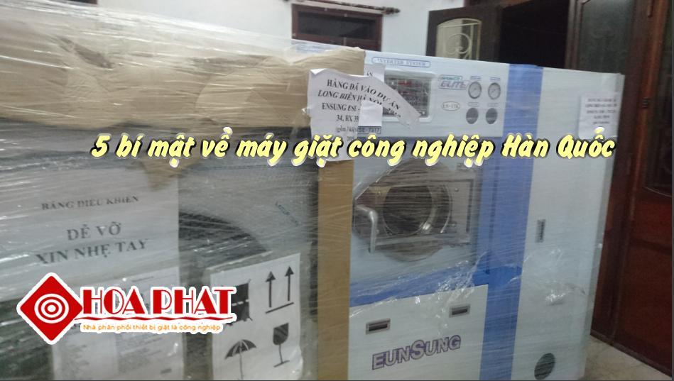 5 bí mật về máy giặt công nghiệp Hàn Quốc mà chuyên gia muốn bạn biết