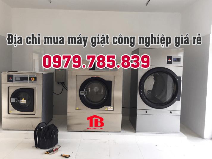 Địa chỉ mua máy giặt công nghiệp nhập khẩu giá rẻ