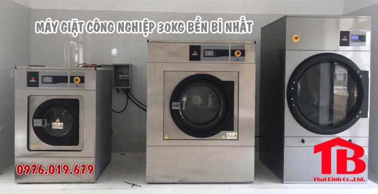 Mua máy giặt công nghiệp 30kg bền ổn định nhất
