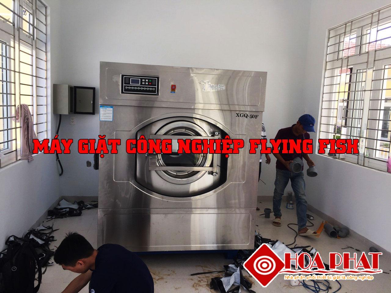 Máy giặt công nghiệp Flying Fish – Đỉnh cao của công nghệ 4.0