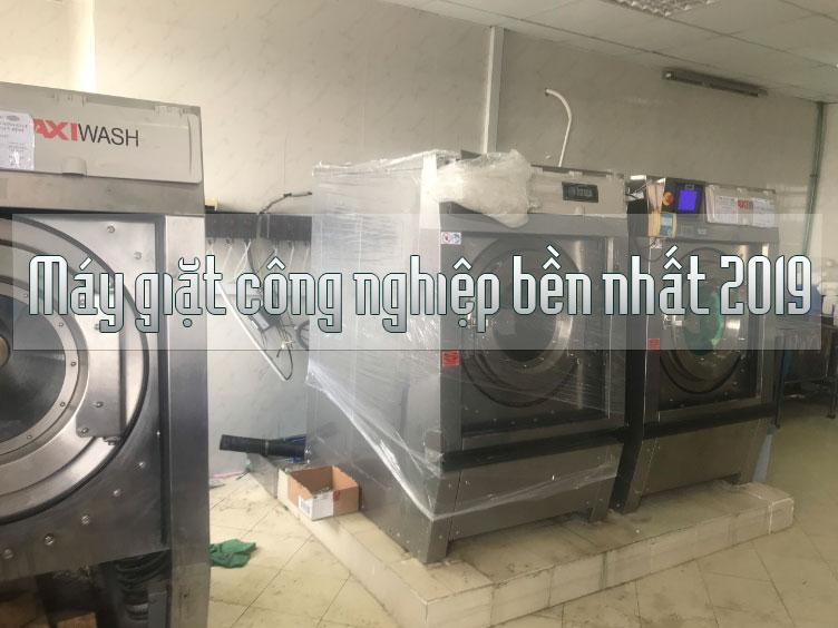 Điểm qua những dòng máy giặt công nghiệp bền nhất 2019