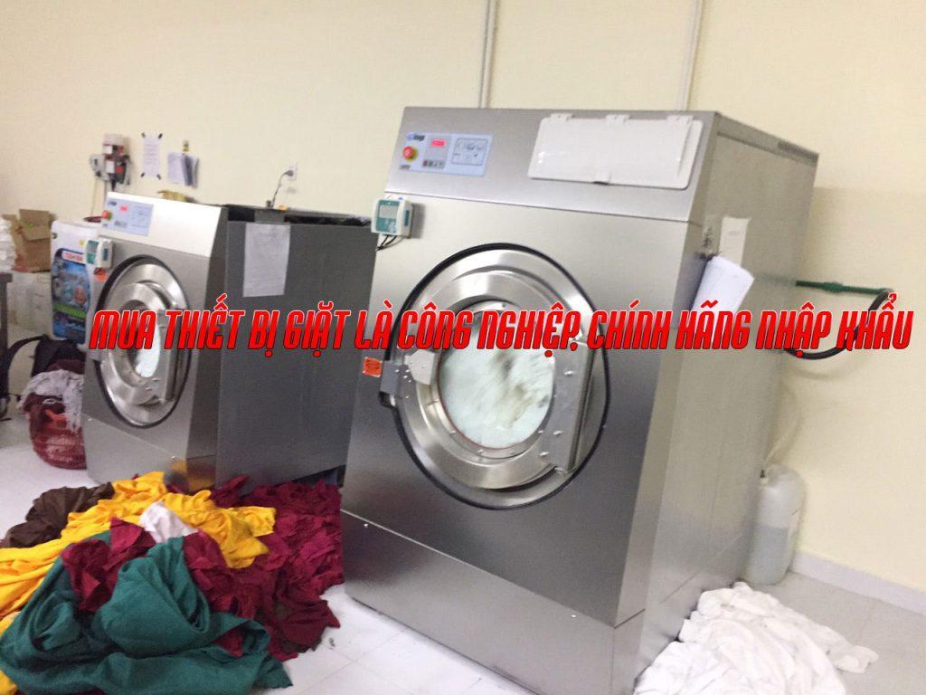 Thiết bị giặt là công nghiệp