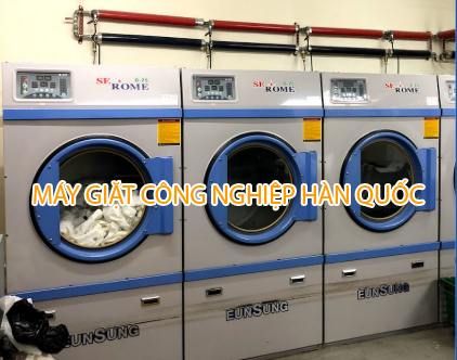 máy giặt công nghiệp Hàn Quốc