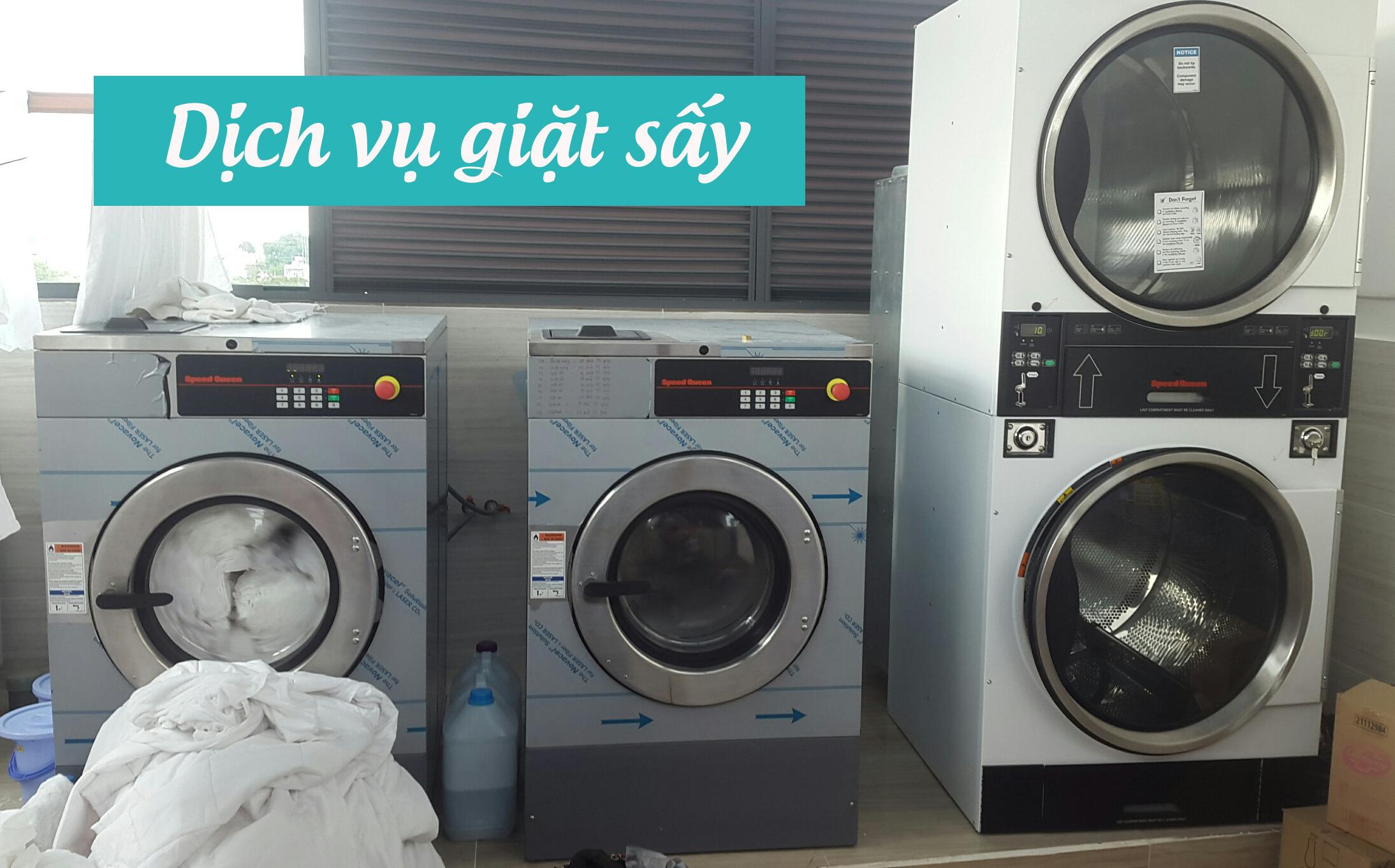 dịch vụ giặt sấy quần áo