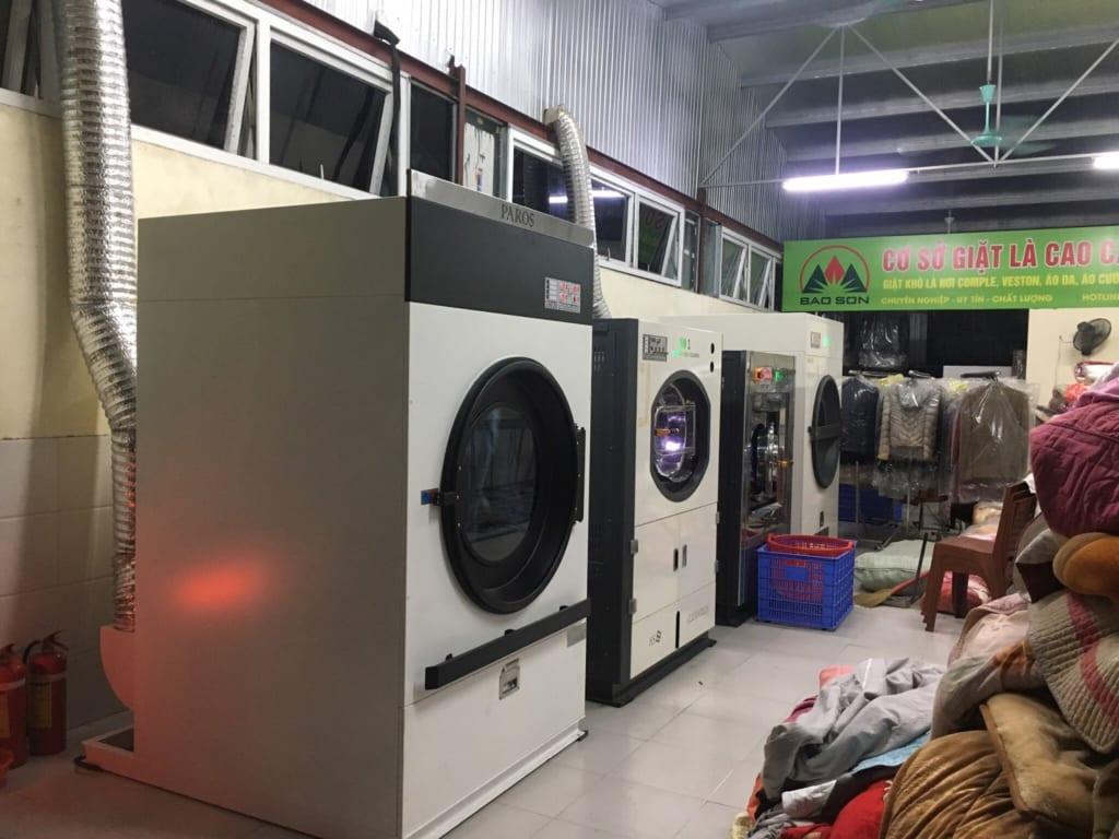 Máy giặt công nghiệp cho tiệm giặt là