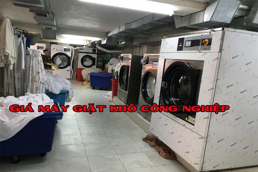 Bảng tổng hợp giá máy giặt khô công nghiệp 13kg, 15kg, 17kg, 20kg, 23kg, 25kg, 30kg
